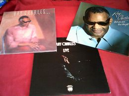 RAY CHARLES    COLLECTION DE 9  VINYLES - Collections Complètes