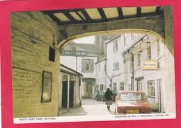 Modern Post Card Of White Hart Yard,Retford, Nottinghamshire,A61. - England