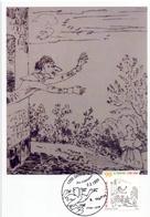 RODOLPHE TOPFFER 1999 MAXIMUM POST CARD   (GENN201260) - Fumetti