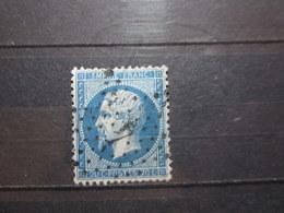 "VEND BEAU TIMBRE DE FRANCE N° 22 + ETOILE "" 4 "" !!! - 1862 Napoléon III"