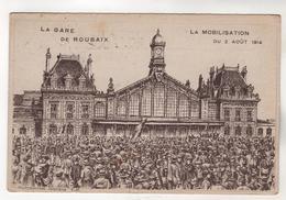 +3712,  Militaria > Weltkrieg 1914-18,  Feldpost, Roubaix - Guerre 1914-18