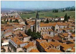 Carte Postale 01. Ambérieu-en-Bugey  Vue Aérienne Très Beau Plan - France