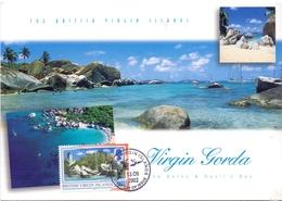 BRITISH VIRGIN ISLANDS  MAXIMUM POST CARD    (GENN201284) - British Virgin Islands
