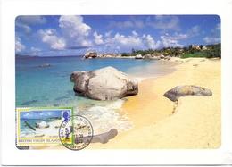 BRITISH VIRGIN ISLANDS  MAXIMUM POST CARD    (GENN201286) - British Virgin Islands