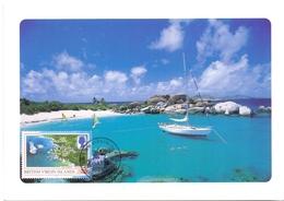 BRITISH VIRGIN ISLANDS  MAXIMUM POST CARD    (GENN201287) - British Virgin Islands