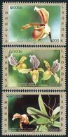 354- Laos 2011  YT 1792-94 ; Mi# 2203-05 **  MNH   Orchids, Fleurs - Laos