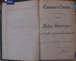 Dourdan 1878 Copie De  28 Vues D'un Manuscrit Voir Descritptif Ci-dessous Etc - Dourdan
