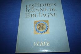 BOURDICHON / Les Heures D'Anne De Bretagne  VERVE - Boeken, Tijdschriften, Stripverhalen