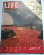 LIFE JANUARY 12 1953 EISENHOWER / M. GESSLER - Livres, BD, Revues