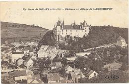 CHATEAU ET VILLAGE  DE LA ROCHEPOT - Autres Communes