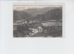 Trois Ponts Le Moulin Liffrange - En Franchise Militaire Allemande  - Griffe Luttich 1915 - Trois-Ponts