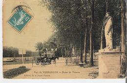 VERSAILLES. CP Voyagée Parc De Versailles Route De Trianon - Versailles