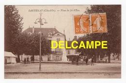 DD / 21 CÔTE D'OR / SANTENAY / PLACE DU JET D' EAU / ANIMÉE / 1929 - Francia