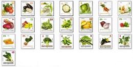 Republic Of North Macedonia / Definitives / Vegetables - Macedonia
