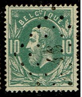 30  Obl  LP 46  Boom  + 3 - 1869-1883 Leopold II.