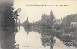 PONTAILLER SUR SAONE :LA VIEILLE SAONE - France