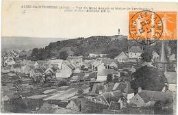 ASILE SAINTE REINE : VUE DU MONT AUXOIS - Autres Communes