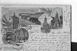 NANCY  6 VUES SOUVENIR DE    RUE CONSTITUTION .TOMBEAU STANISLAS .STATUE DE DROUOT. NLLE CASERNES ...  TIRAGE 1900 - Nancy