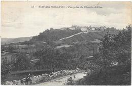 FLAVIGNY: VUE PRISE DU CHEMIN D'ALISE - Autres Communes