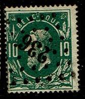 30  Obl  LP  236  Marbehan  + 15 - 1869-1883 Leopold II.