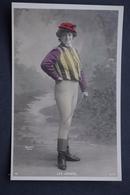OLD POSTCARD - Les Jockeys - Femme - Woman - Frau - Photo Walery - Série 5068 - Frauen