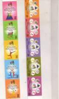 Kuwait New 2008- GCC Women Sport 10 Stamps-2 Strip Of 5-MNH- ( No Skrill & Paypal ) - Kuwait