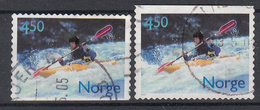 NOORWEGEN - Michel - 2001 - Nr 1383 Do/Du - Gest/Obl/Us - Norvège