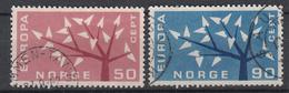 NOORWEGEN - Michel - 1962 - Nr 476/77 - Gest/Obl/Us - Norvège