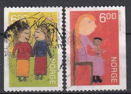 NOORWEGEN - Michel - 2004 - Nr 1516/17DI + Dr - Gest/Obl/Us - Norvège