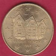 France - Tours - 1 Euro - 1997 - Euros Des Villes