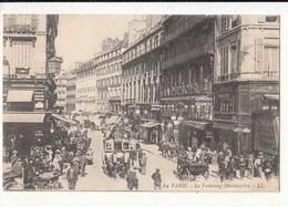 CPA France Paris - Le Faubourg Montmartre  :  Achat Immédiat - (cd025 ) - Nahverkehr, Oberirdisch
