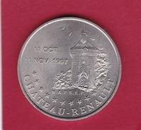 France - Chateau-Renault - 2 Euro - 1997 - Euros Des Villes