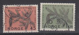 NOORWEGEN - Michel - 1962 - Nr 469/70 - Gest/Obl/Us - Norvège