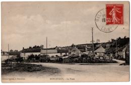 CPA 45 - RONCEVAUX (Loiret) - La Place - Ed. Guériau - France