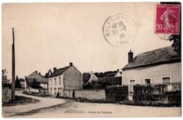 CPA 45 - RONCEVAUX (Loiret) - Route De Puiseaux - Ed. Guériau - France