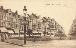 Leuven - Louvain Avenue Des Alliés Vers La Gare - Leuven