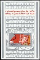 1986, Vietnam Nord Und Republik, Block 49, ** - Vietnam