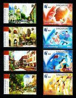 Singapur Nº 1577/80-1598/601 Nuevo - Singapur (1959-...)