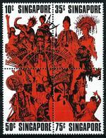 Singapur Nº 178/81 (unidos) Nuevo - Singapur (1959-...)