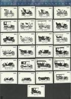 HISTORY FIAT AUTO MODELLEN MODÈLES VOITURES  CAR TYPES 1899-1962 Dutch Matchbox Labels - Boites D'allumettes - Etiquettes