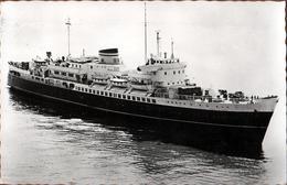 "CPSM M.S. "" Koningin Emma "" / "" Prinses Beatrix "" Passagierschiff 4353 T. - Ecrite & Circulée En 1960 - Paquebots"