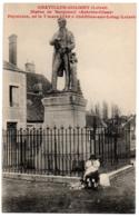 CPA 45 - CHATILLON-COLIGNY (Loiret) - Statue De Becquerel (animée) - Chatillon Coligny