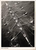 CPSM Originale - Der Achter - Le Huitième - Aviron à Huit En Vue Plongée  - Kleinbildkamera Blende 4 1/250 Sec - Roeisport