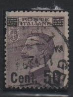 1923-27 Michetti 50 C. Su 55 C. US - Usati