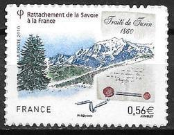 France 2010 Timbre Adhésif Neuf** N°415 Savoie Cote 4,00 Euros - France