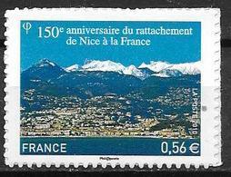 France 2010 Timbre Adhésif Neuf N°469 Nice Cote 5,00 Euros - Francia