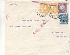 Pérou - Lettre De 1931 - Oblit Lima - Exp Vers Bruxelles - - Peru