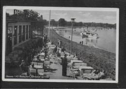 """AK 0416  Dessau - HO-Restaurant """" Kornhaus """" An Der Elbe / Ostalgie , DDR Um 1974 - Dessau"""