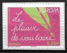 France 2008 Timbre Adhésif Neuf  N° 207 Europa Cote 5 Euros - France