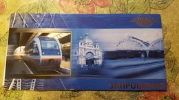 Ukraine. Lviv- Lwow - Lvov - Lemberg.  LWOW Railway Station Bahnhof / Train Locomotive - Ukraine